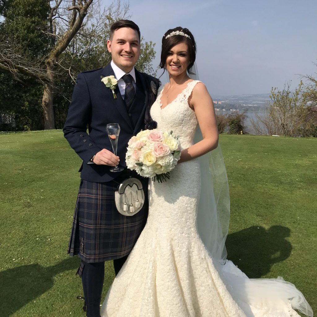 Claire & Christopher - Gleddoch House